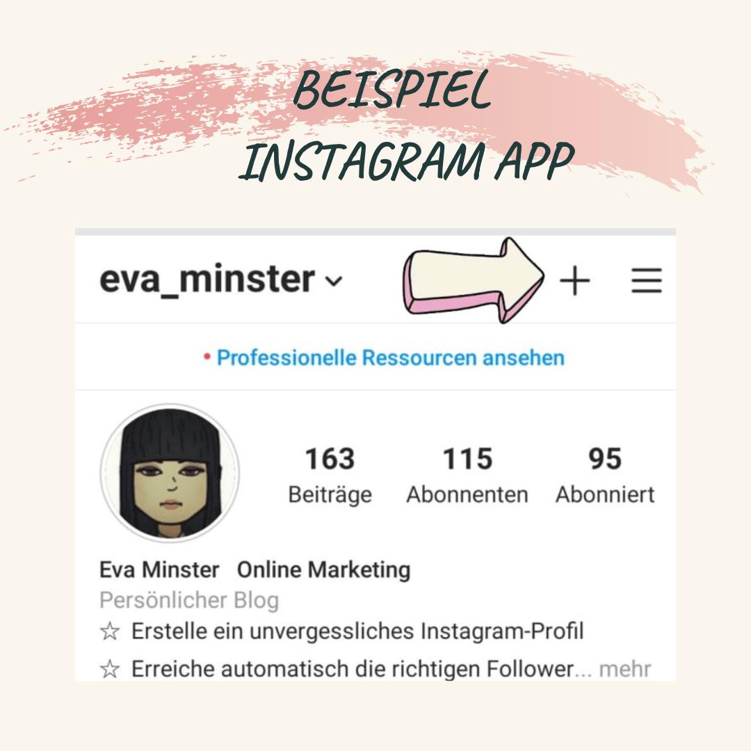 Instagram Video hochladen