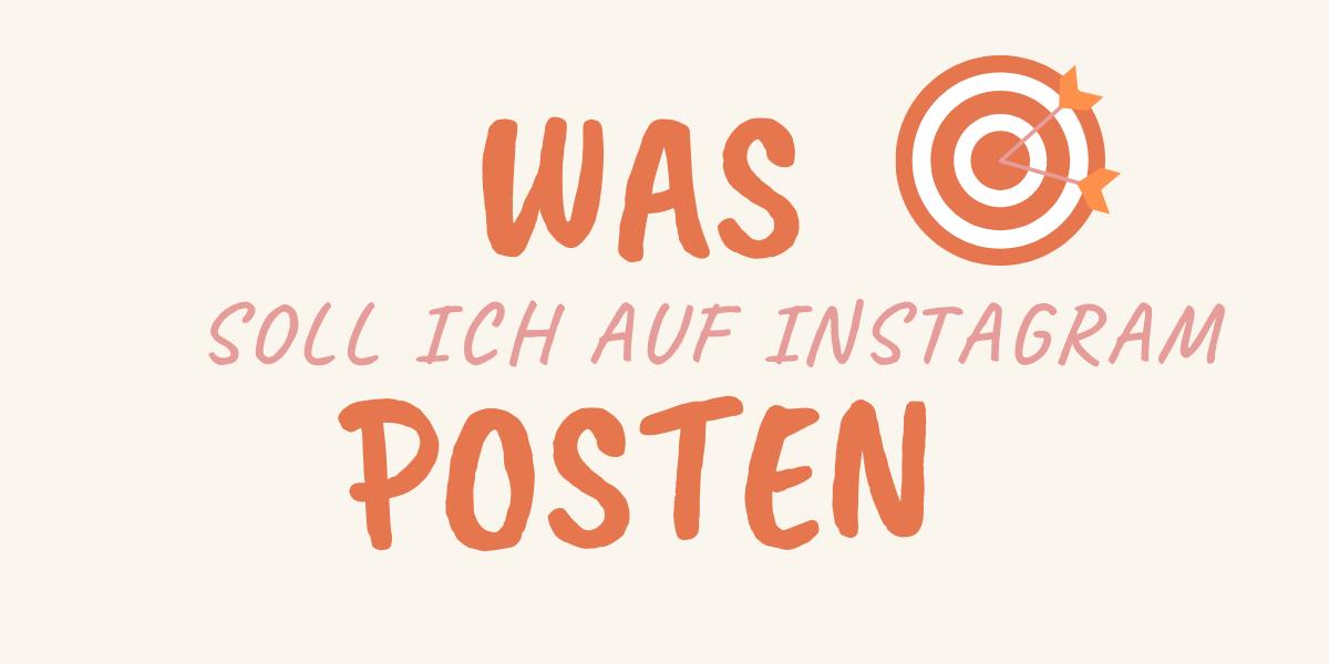 Was soll ich auf Instagram posten